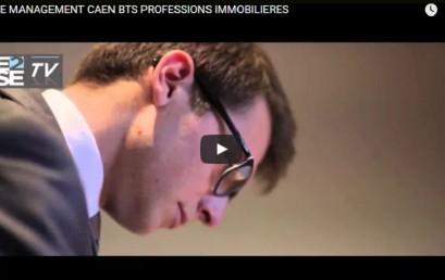 E2SE MANAGEMENT CAEN BTS PROFESSIONS IMMOBILIERES