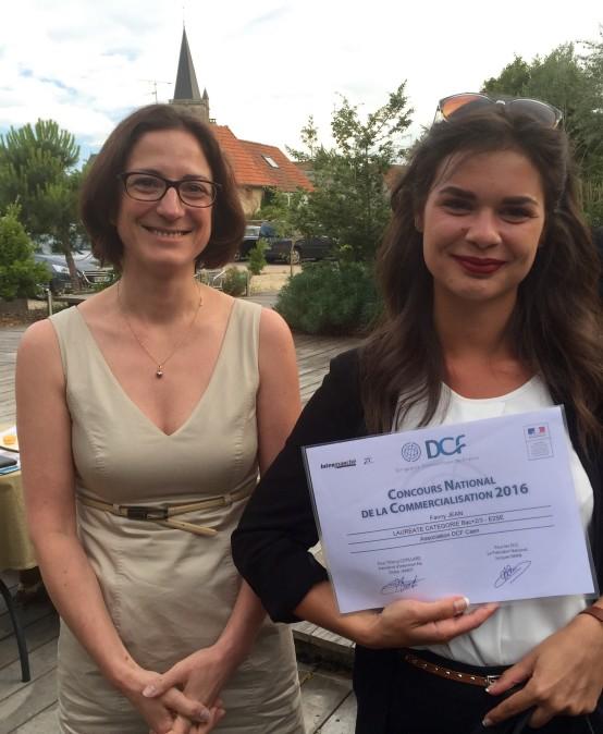 Fanny JEAN – Lauréate CAEN Concours DCF
