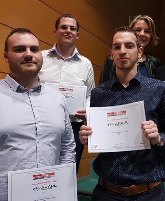 Nos lauréats – 17ème Tournoi de l'Ordre des Experts-Comptables