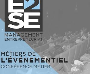 Conférence Métiers de l'Evénementiel