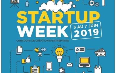 Startup Week – du 03 au 07 juin