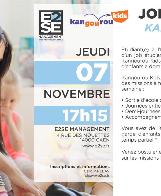 Job Étudiant – Kangourou Kids