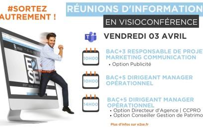RÉUNIONS D'INFORMATIONS – RENTRÉE 2020