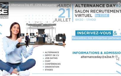 Teaser Alternance Day #2 – Salon du Recrutement Virtuel !