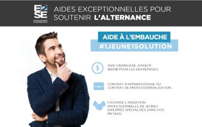 AIDES EXCEPTIONNELLES À L'EMBAUCHE