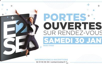 PORTES OUVERTES – SAMEDI 30 JANVIER 2021