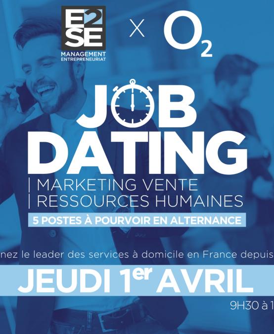 JOB DATING – 01 AVRIL 2021 – DÉCROCHEZ VOTRE ALTERNANCE !