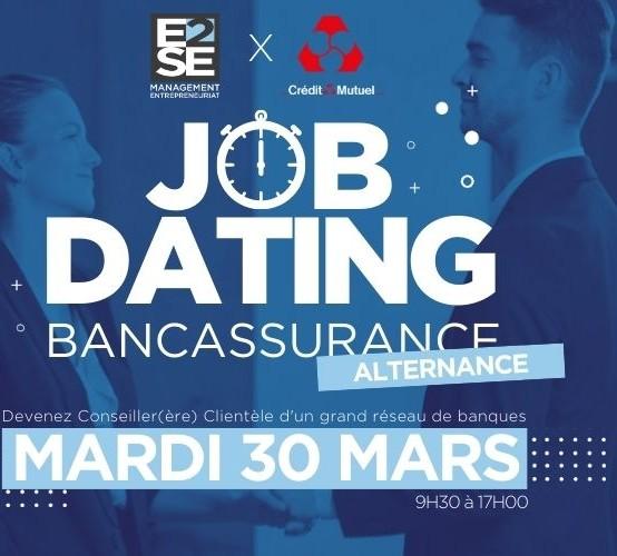 JOB DATING – 30 MARS – DÉCROCHEZ VOTRE ALTERNANCE !