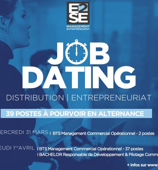 JOB DATING – DISTRIBUTION – 39 POSTES À POURVOIR !