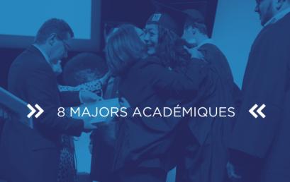 8 étudiants sur le podium académique ! Félicitations !